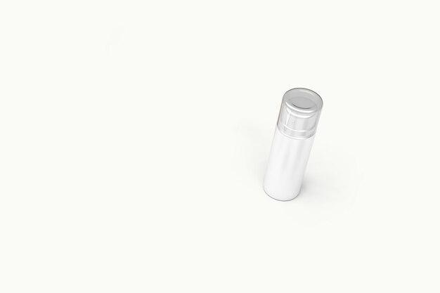 Cosmetica sjabloon op wit