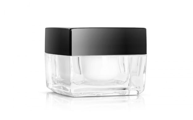 Cosmetica verpakking crème pot voor productontwerp mock-up