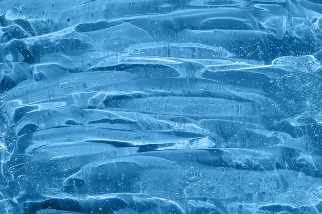 Cosmetisch serum uitstrijkje met collageen en peptiden schoonheid huidverzorging textuur emulsie anti-aging