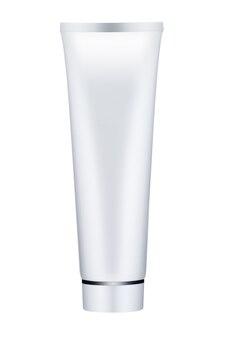 Cosmetische buis geïsoleerd op een witte achtergrond