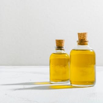 Cosmetische olie met hoge hoek
