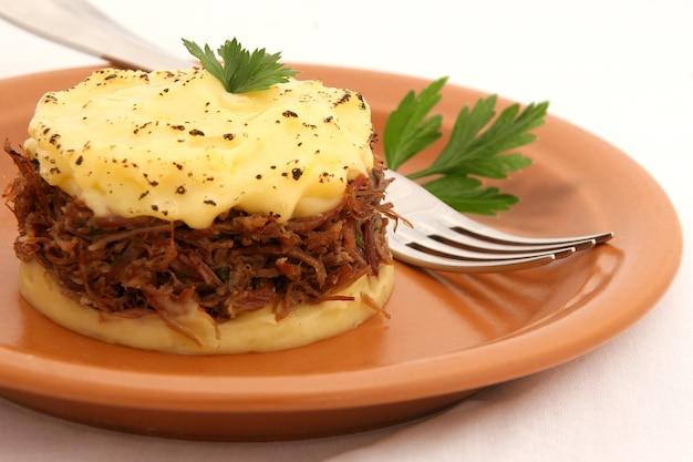 Cottage pie, shepherd's pie, engelse keuken.