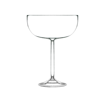 Coupe cocktailglas voor champagne