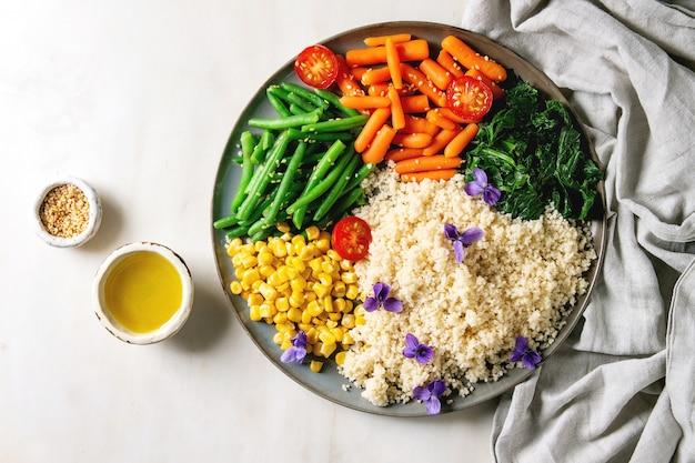 Couscous met groenten