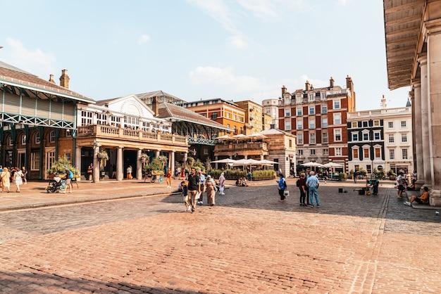Covent garden-markt in londen