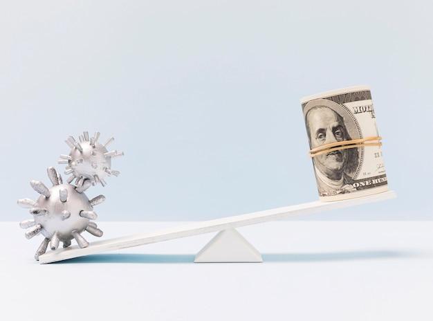 Covid-19 wereldwijde economische crisis