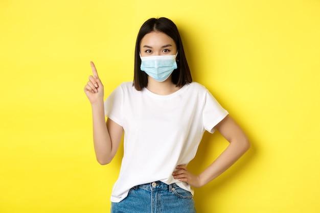 Covid, gezondheidszorg en pandemisch concept.
