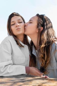 Covid healing concept bij vrouwen
