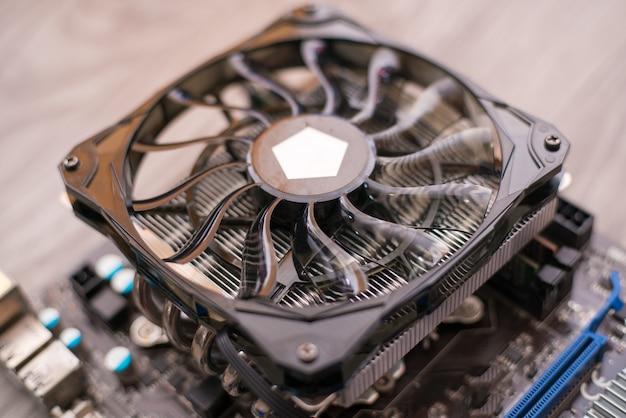 Cpu-koeler, heat sinc met 2 ventilatoren