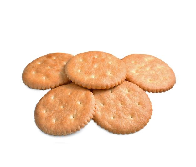 Cracker geïsoleerd op wit