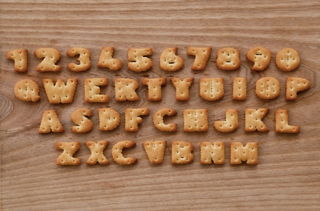 Cracker toetsenbordknoppen