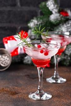 Cranberry margarita-cocktail