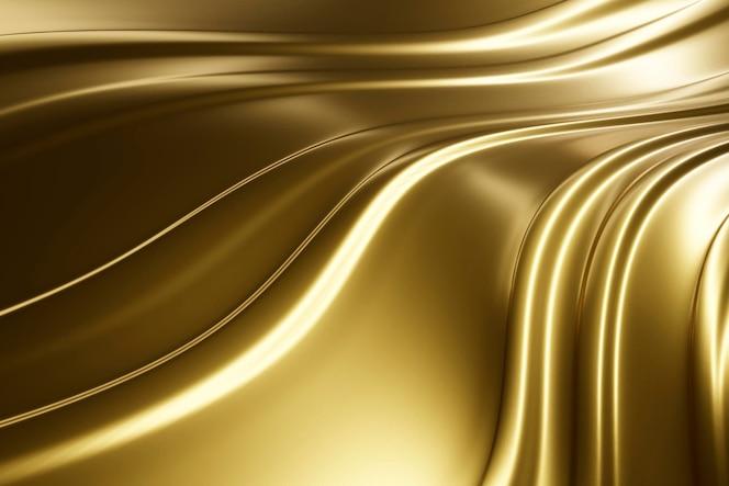 Creatief abstract gouden geweven materiaal
