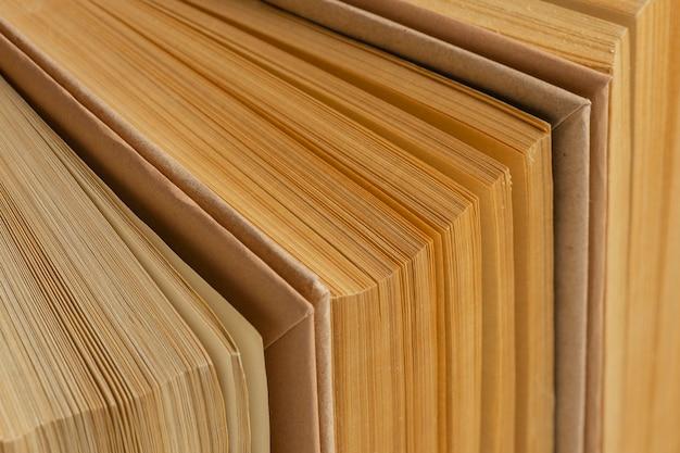 Creatief assortiment met verschillende boeken