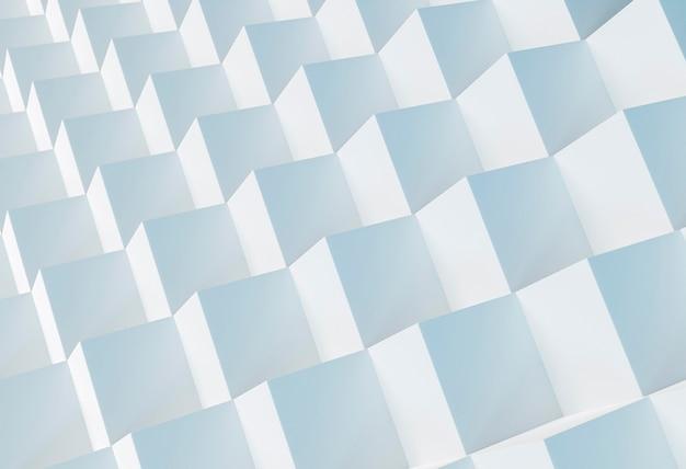 Creatief behang met geometrische vormen