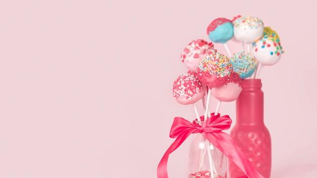 Creatief cakepop concept