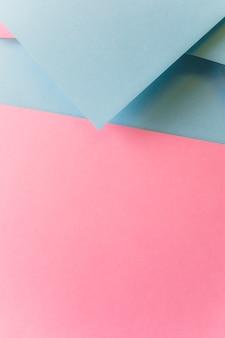 Creatief papierontwerp voor pastelbehang