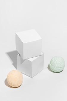 Creatief verschillend assortiment bath bombs