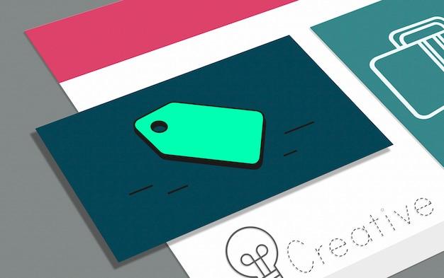Creatief visitekaartje