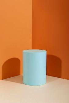 Creatieve compositie van minimalistisch podium