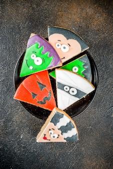 Creatieve halloween-koekjes