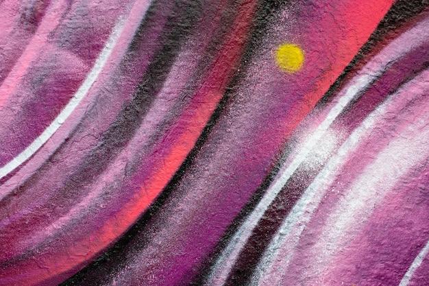 Creatieve muurschildering graffiti behang