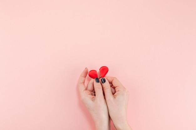 Creatieve valentine-dag romantische samenstelling