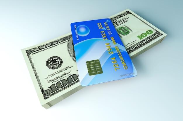 Creditcard en contant geld