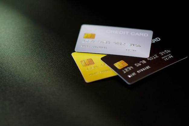 Creditcard en laptop