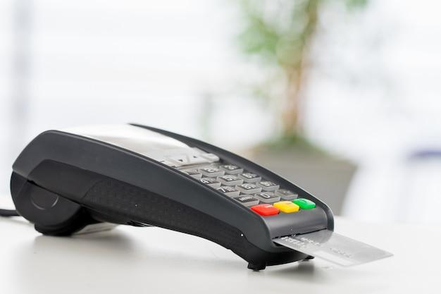 Creditcardbetaling, kopen en verkopen van producten en service
