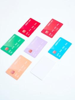 Creditcards van verschillende banken