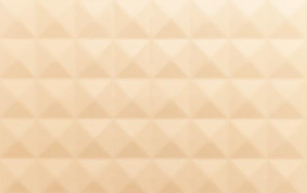 Crème kleur achtergrond textuur wal 3d illustratie 3d-rendering