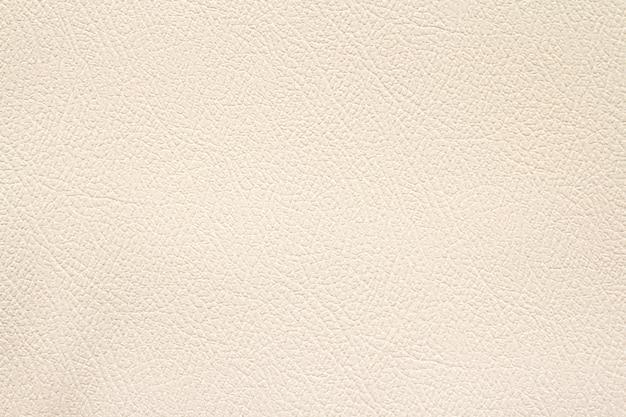 Crème kleur achtergrond van leder texture