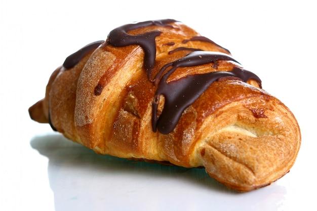 Croissant met chocolade