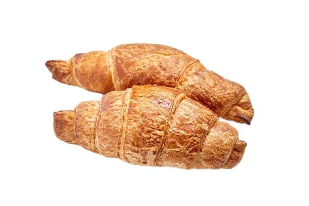 Croissants geïsoleerd