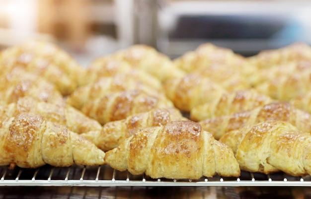 Croissants uit de oven