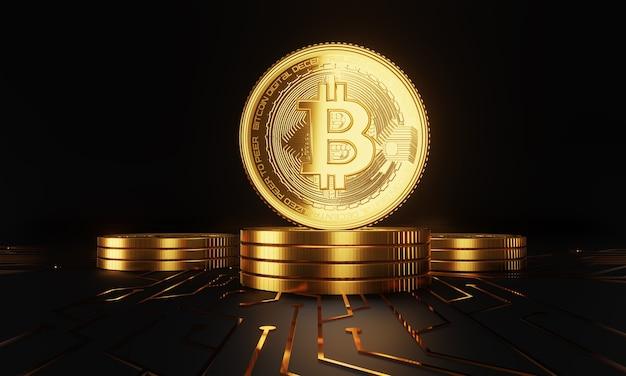 Cryptocurrency bitcoin de toekomstige munt