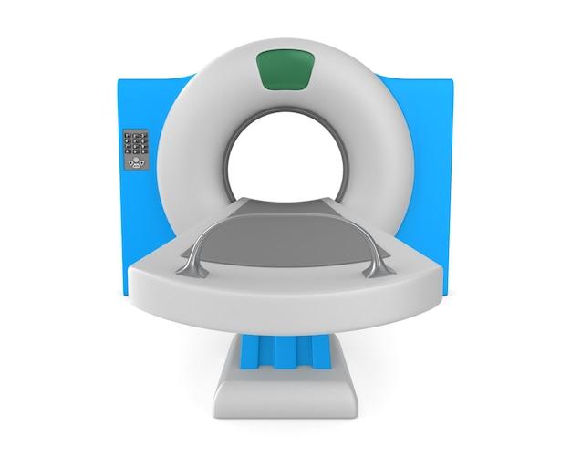 Ct-scannertomografie. geïsoleerde 3d-weergave
