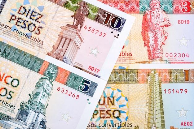 Cubaanse convertibele peso een bedrijfsoppervlakte