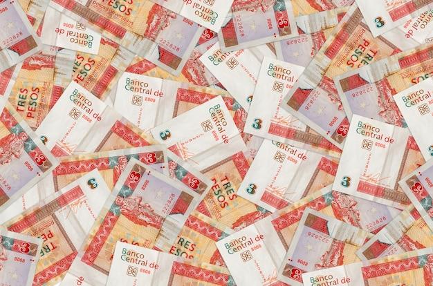Cubaanse peso's converteerbare rekeningen tot in grote stapel