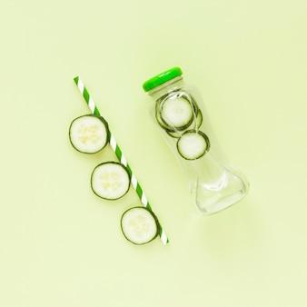 Cucumberg natuurlijke smoothie