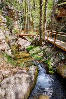 Cuenca villar del humo-dorpsrivier vencherque in spanje