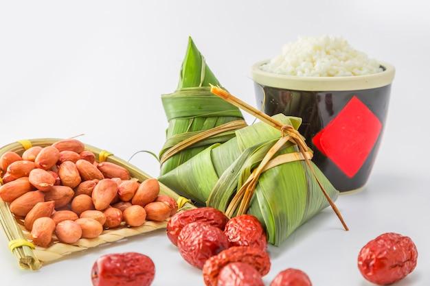 Cultuur traditionele snack close-up eten wit