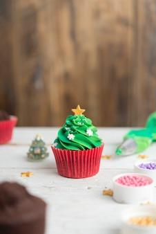 Cupcakes voor kerstmis