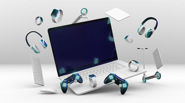 Cyber maandag-evenement met controllers
