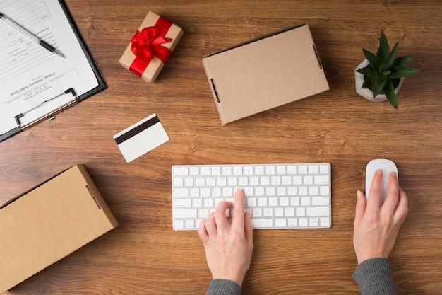 Cyber maandag verkoopvoorbereiding