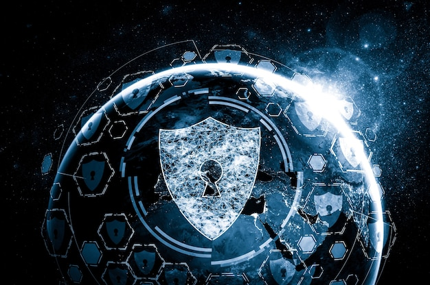 Cyberbeveiligingstechnologie en online gegevensbescherming in innovatieve perceptie