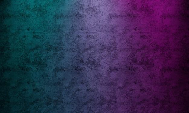Cyberpunk twee tonen die achtergrond aansteken Premium Foto