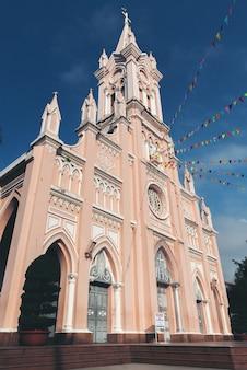 Da nang kathedraal in de stad danang