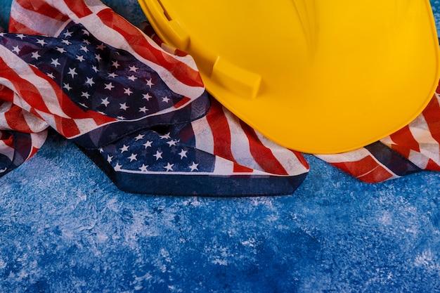 Dag van de arbeid is een federale feestdag van het bovenaanzicht van de verenigde staten